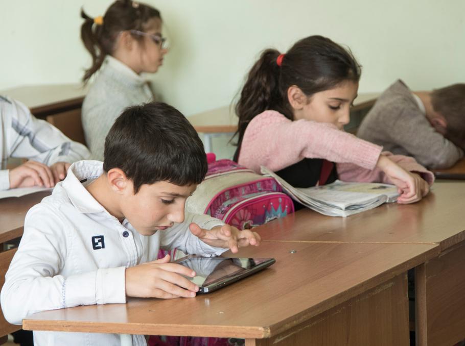 Ն. Տիգրանյանի անվան թիվ 14 հատուկ դպրոցում