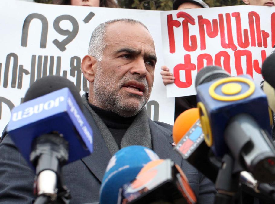 Раффи Оганесян в 2013 году