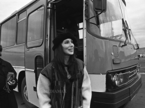"Modern history [part 2].  How Cher arrived in ""freezing"" Armenia"