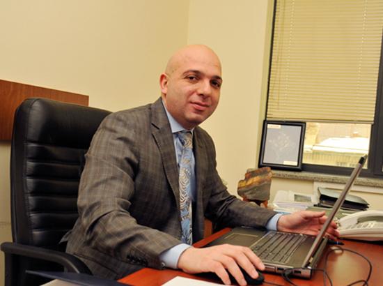 Geoteam CJCS Managing Director Hayk Aloyan