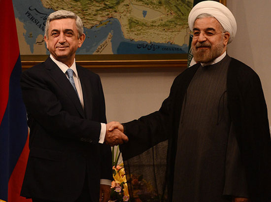 Image result for sargsyan rouhani