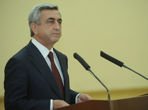 Serzh Sargsyan to take part in Eastern Partnership Summit in Czech Republic