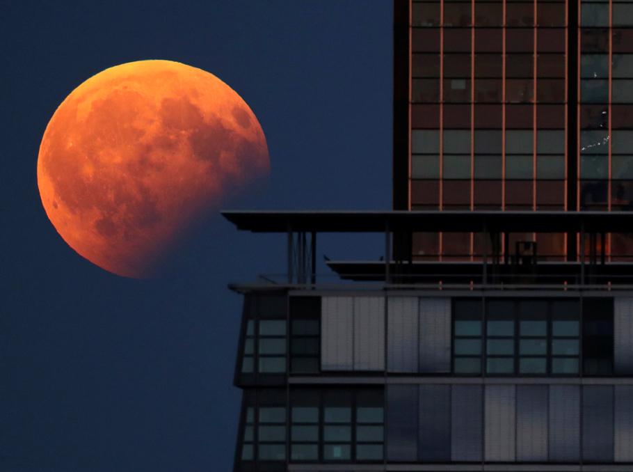 Լուսնի կիսախավարումը Բեռլինում, Գերմանիա