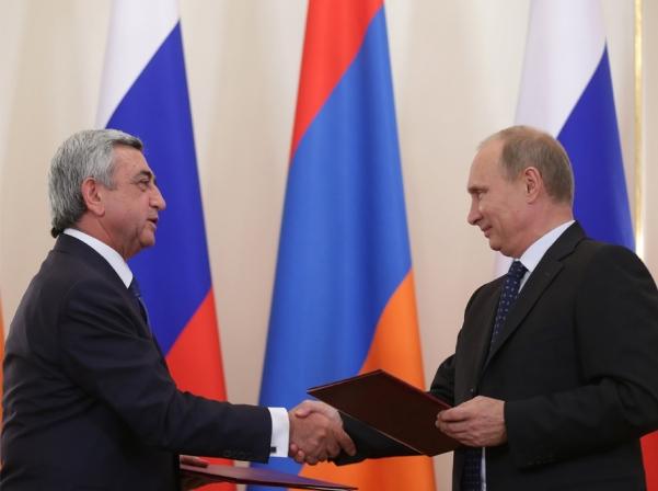 Серж Саргсян и Владимир Путин обсудят в Сочи карабахское урегулирование